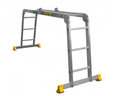 Лестница алюминиевая шарнирная (T433)
