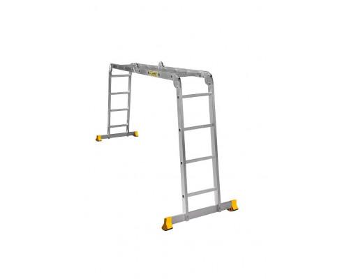 Лестница алюминиевая шарнирная (T444)
