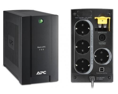 BC750-RS APC Back-UPS 750 ВА