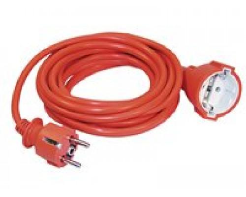 УШ-01РВ оранжевый с вилкой и розеткой (WUP10-20-K09-N)