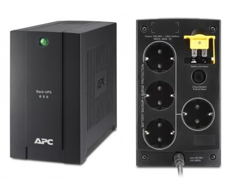 BC650-RSX761 APC Back-UPS 650 ВА