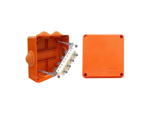Коробка JBS100 трехполюсная (1,5…4 мм²) 100х100х55 (43107HF)