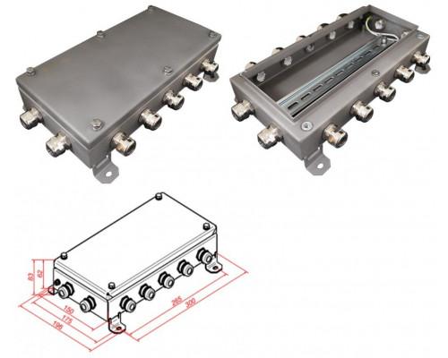 КМ IP66-1530, 14 вводов, нержавейка