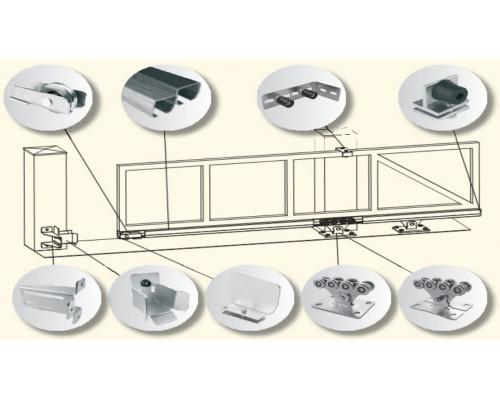 Комплект для откатных ворот массой до 500 кг
