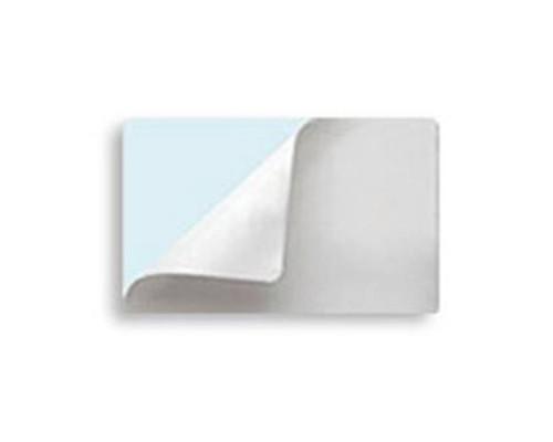 Пластиковые карты CR80 0.30 белые самоклеящиеся (уп. 100 шт.)