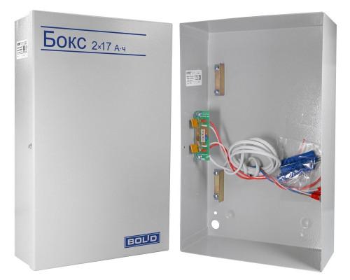 Бокс-24 исп.0 (Бокс-24/17М5) (Бокс 2х17Ач-24В)