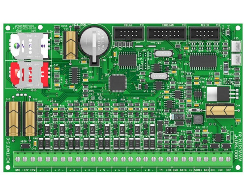 Контакт GSM-5-2 (без голоса) с контролем АКБ