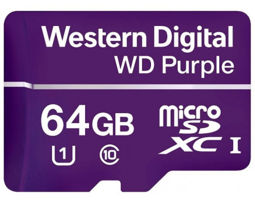 MicroSDXC 64ГБ, Class 10 (WDD064G1P0A)
