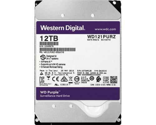 HDD 12000 GB (12 TB) SATA-III Purple (WD121PURZ)