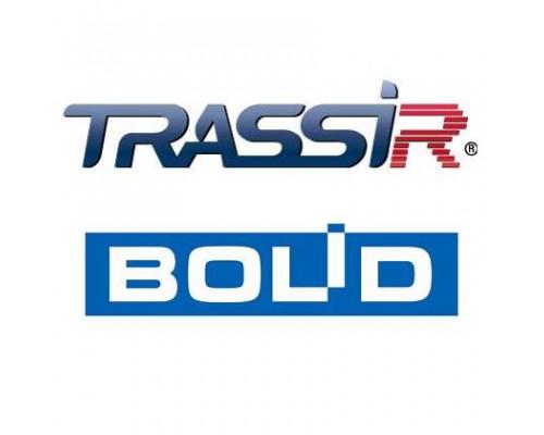 TRASSIR Bolid Интеграция с ПО компании Болид ОПС и СКУД