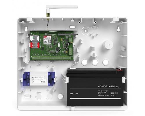 Контакт GSM-5A v.2 с внешней антенной в корпусе под АКБ 7 Ач