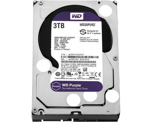 HDD 3000 GB (3 TB) SATA-III Purple (WD30PURZ)