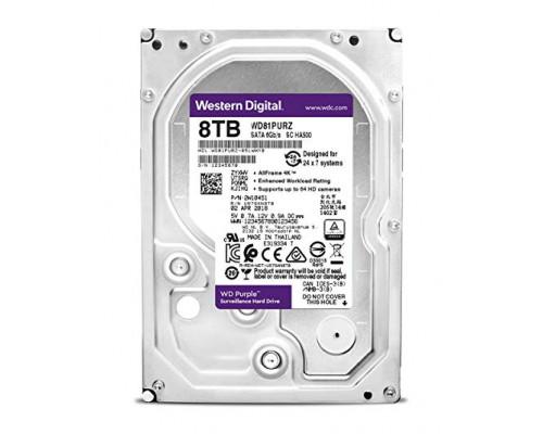 HDD 8000 GB (8 TB) SATA-III Purple (WD81PURZ)