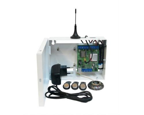 """S400L-2GSM-BK12-W-li Kit """"Нано LAN"""" клеммники (li-ion АКБ 2800мАч, цвет белый)"""