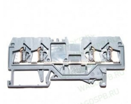 WAGO 280-833 клемма 4-х проводная