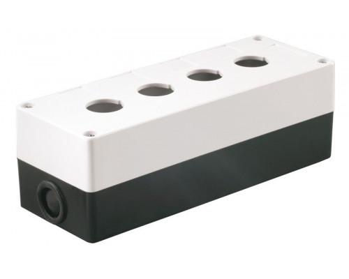 Корпус КП104 для кнопок 4 места белый (BKP10-4-K01)