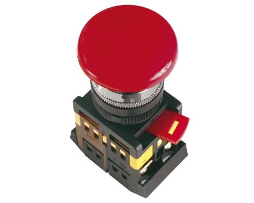"""Кнопка AEAL22 """"Грибок"""" с фиксацией красный D=22мм (BBG60-AEAL-K04)"""