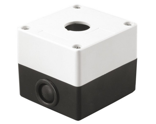 Корпус КП101 для кнопок 1 место белый (BKP10-1-K01)