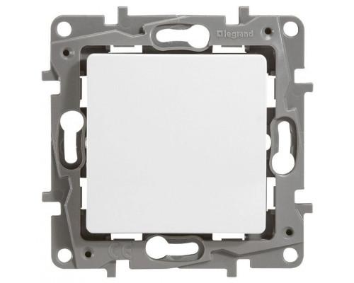 Выключатель 10AX-250В ETIKA, белый (672201)