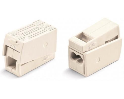 WAGO 224-122 клемма для светильников белая