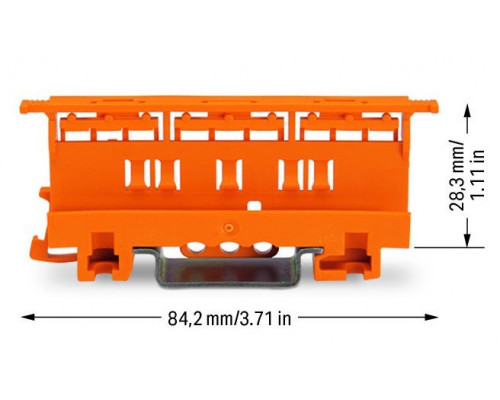 WAGO 221-510 монтажный адаптер клемм