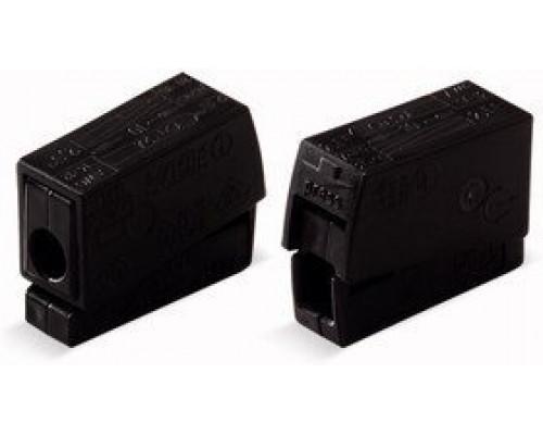 WAGO 224-104 Клемма для светильников черная