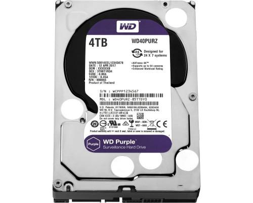 HDD 4000 GB (4 TB) SATA-III Purple (WD40PURZ)