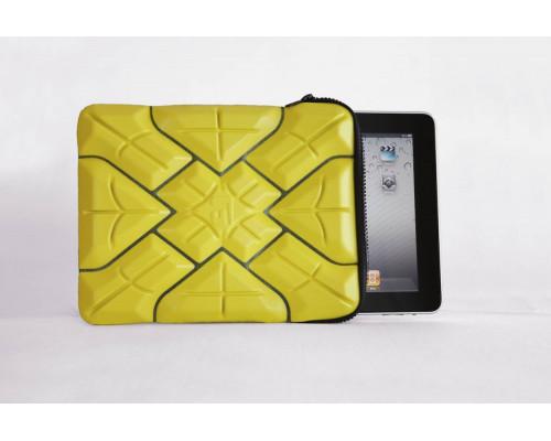 """Противоударный чехол для iPad 2,3,4, Air /Tablet PC 10.1"""" /ExtremeSleeve 100% защита от удара и падения, жёлтый, G-Form."""