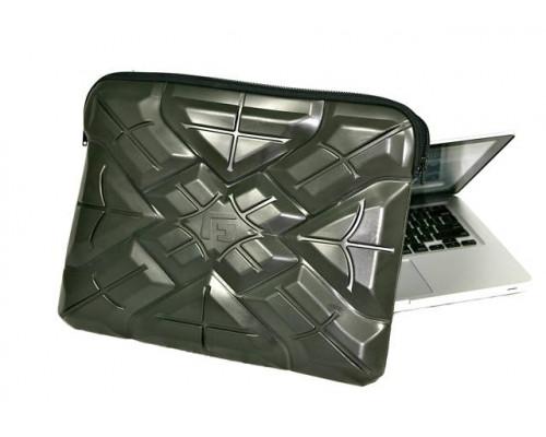 """Противоударный чехол для MacBook 13"""" / notebook 13.3"""" - 14"""" /  Extreme Sleeve -100% защита от удара, черный,  G-Form"""