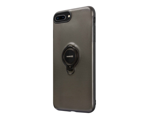 HARDIZ Crystal Case for iPhone 8+, Black