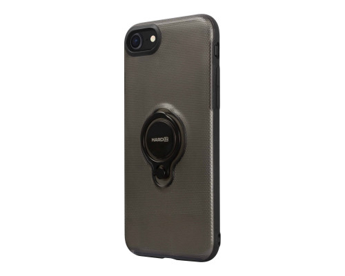 HARDIZ Crystal Case for iPhone 8, Black