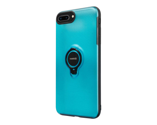 HARDIZ Crystal Case for iPhone 8+, Blue