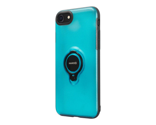 HARDIZ Crystal Case for iPhone 8, Blue