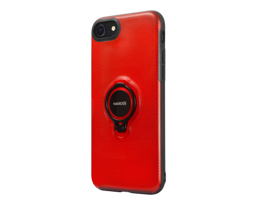 HARDIZ Crystal Case for iPhone 8, Red