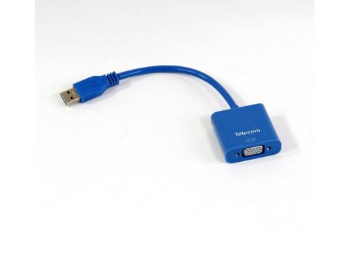 Адаптер USB 3.0 - VGA-F display adapter Telecom