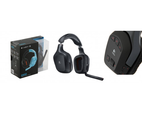 Гарнитура Беспроводная Logitech Wireless Gaming Headset PC G930 (G-package)