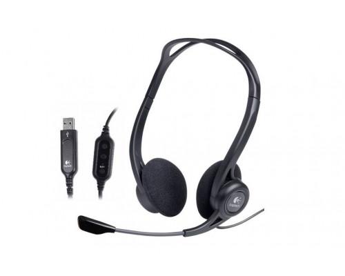 Гарнитура Logitech Headset 960 USB