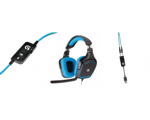 Гарнитура Logitech Surround Sound Gaming Headset G430 (G-package)