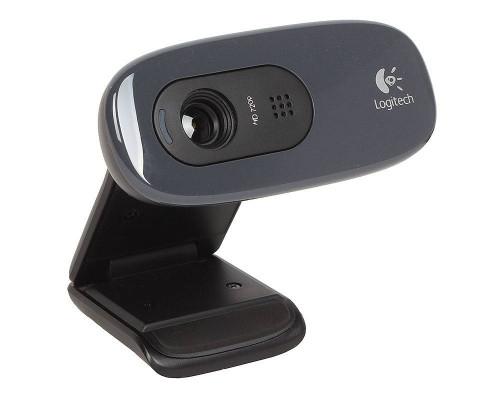 Logitech Камера интернет HD Webсam C270, чёрный.