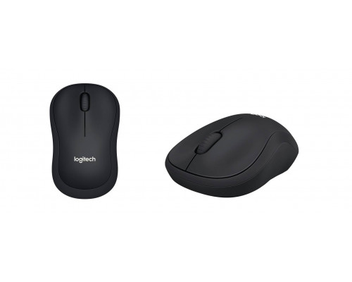 Logitech Мышь беспроводная B220 SILENT - BLACK - 2.4GHZ - EMEA - B2B CLOSED BOX.