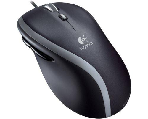 Logitech Мышь проводная M500, 1000 dpi, 6 кнопок, USB, блистер.