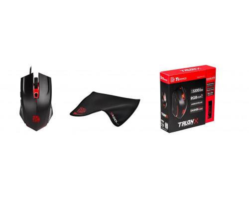 Thermaltake Комплект игровой мышь + коврик Tt eSPORTS TALON X Gaming Gear Combo