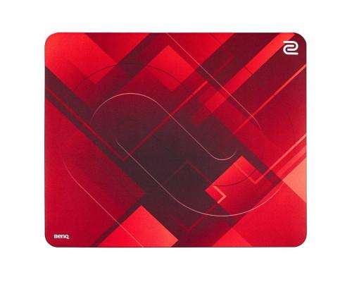 """BENQ Zowie Коврик для мыши G-SR-Red игровой, профессиональный, 480 X 400 X 3.5 мм, мягкий """"медленный"""", красный."""