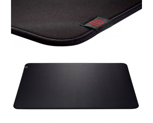 """BENQ Zowie Коврик для мыши P-SR игровой, профессиональный, 355 X 315 X 3.5 мм, мягкий """"медленный"""", черный."""