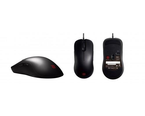 BENQ Zowie Мышь FK1 игровая профессиональная, размер Large, правша - левша, 7 кн., USB кабель 2м, 400/800/1600/3200 dpi.