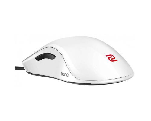 BENQ Zowie Мышь FK1+ (White), игровая профессиональная, правша - левша, 7 кн, USB кабель 2м, 400/800/1600/3200 dpi.