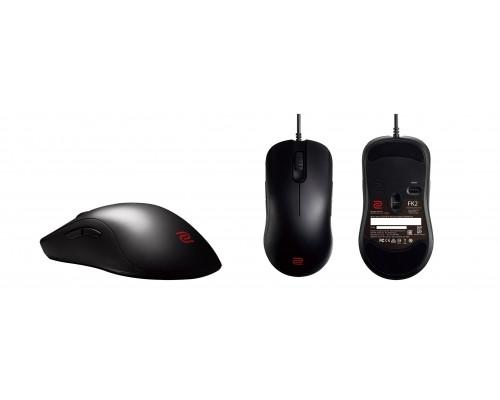 BENQ Zowie Мышь FK2 игровая профессиональная, размер Small, правша - левша, 7 кн., USB кабель 2м, 400/800/1600/3200 dpi.
