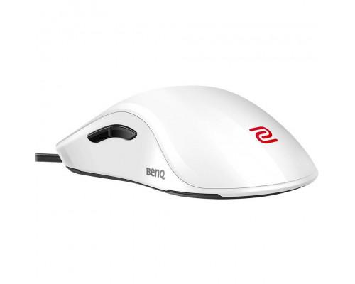 BENQ Zowie Мышь FK2 (White) игровая профессиональная, правша - левша, 7 кн., USB кабель 2м, 400/800/1600/3200 dpi.