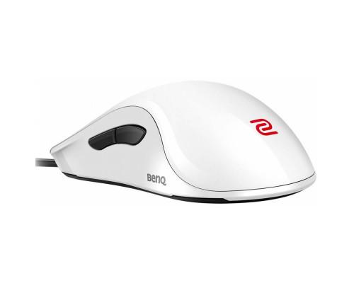 BENQ Zowie Мышь ZA11 (White), игровая профессиональная, правша - левша, 7кн., USB кабель 2м, 400/800/1600/3200 dpi.