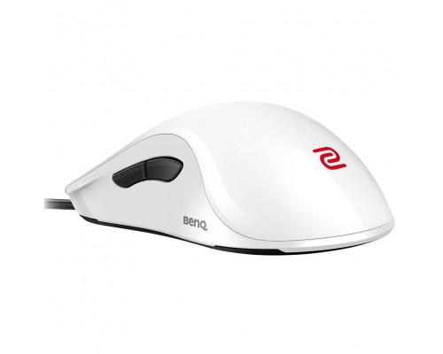 BENQ Zowie Мышь ZA12 (White), игровая профессиональная, правша - левша, 7кн, USB кабель 2м, 400/800/1600/3200 dpi.